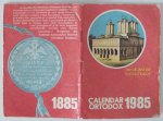 Calendar ortodox 1985